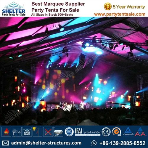 Large Tent For Outdoor Live Show/ Music Festival