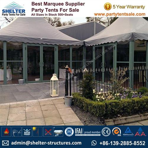 10x10 Gazebo Canopy With Glass Side Walls For Sale In Queensland