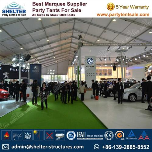 30 x 40 Tent For Sale - Large Outdoor Exhibition Tent For Auto Show