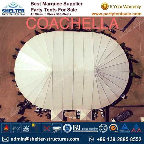 30x40m Big Party Tent With Oval Shape