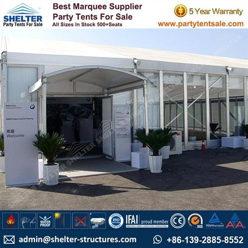 Commercial Tents With Glass Walls For Sale