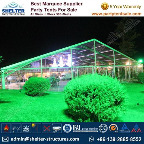 Clear Party Tent For Wedding & Party