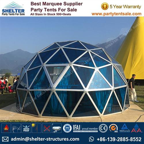 Dia.6m Geodesic Dome House For Sale - Greenhouse Structures