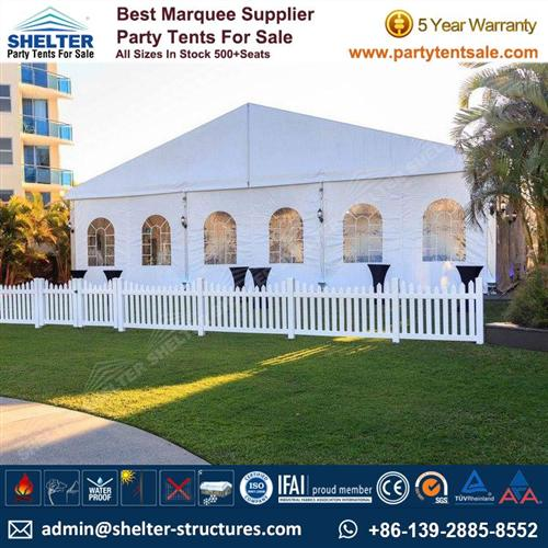 Wedding Marquee 15x30m With French Window