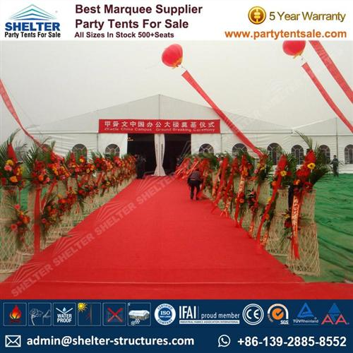 30x60m White Large Event Tent For Open Ceremony