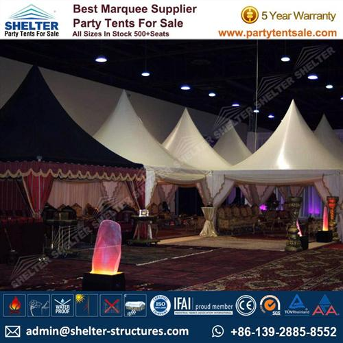Hajj Tent/ Ramadan Tent/ Chinese Hat Gazebo Tent
