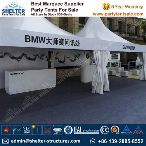 High Peak Canopy Tent 4x4m