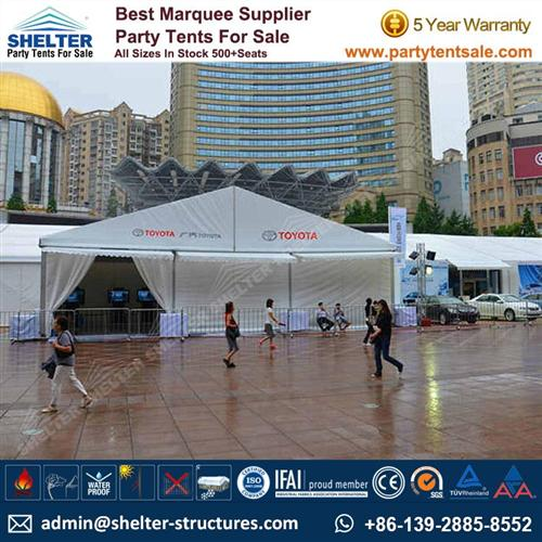 Tent For Toyota Car Show – Event Canopy Tent For Sale