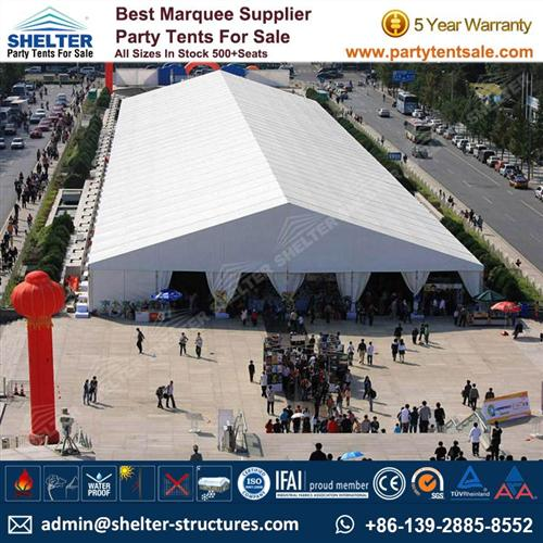 Commercial Used - 30 x 180m Trade Show Tent