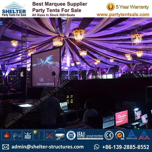 50×50m Outdoor Party Tents
