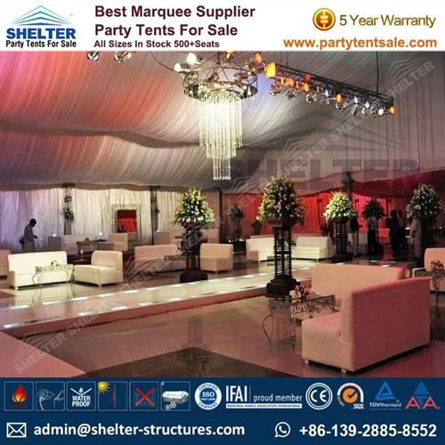 Outdoor Party Tent With Luxury Decoration