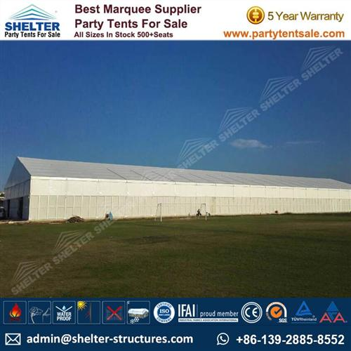 Huge Storage Tent For Goods Warehouse