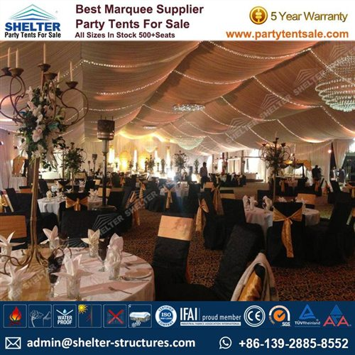 20x30 Party Tent For Wedding Reception In Pakistan