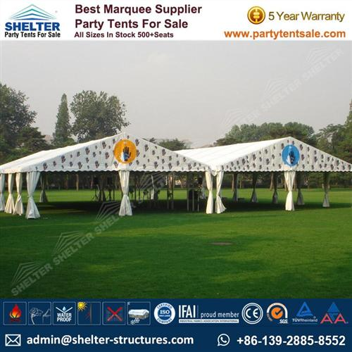 Small Tent For Wedding Reception 100 - 300 People