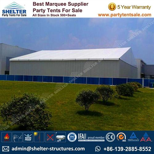 Temporary Warehouse Structures - Storage Tents