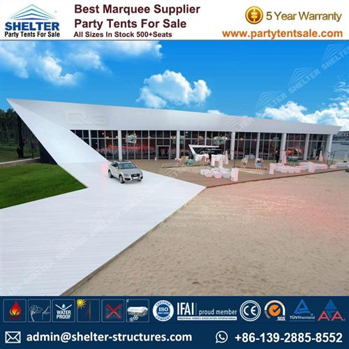 Flat Roof Event Canopy Tent For Exhibition