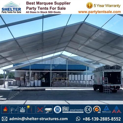 Storage Tent - Temporary Warehouse Structure For Sale