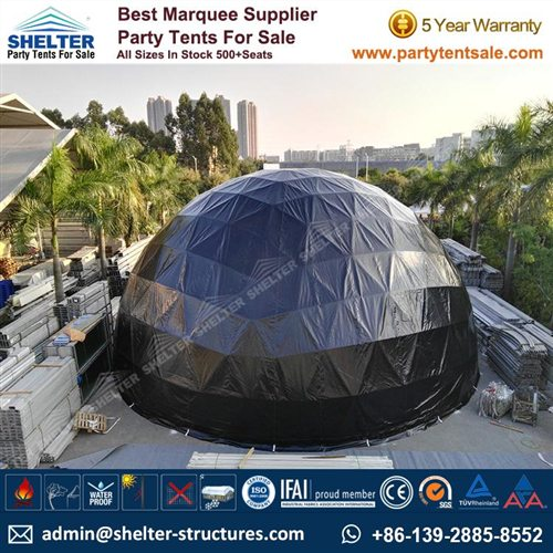 60' Geodesic Dome Tent For Sale In South Australia
