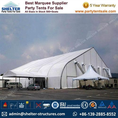 25×35m Curved Roof Tent For Event - Hangar Tent