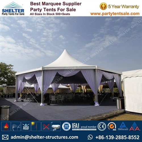 Marquee Wedding Sydney - Decagon Tent for Sale