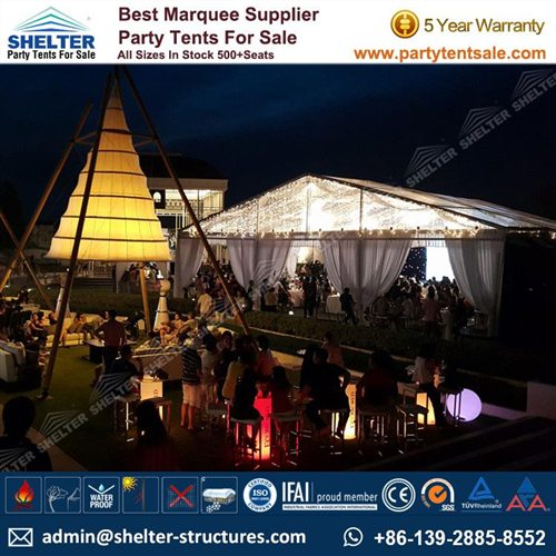 15x20m Portable Event Tent for Corporate Celebration