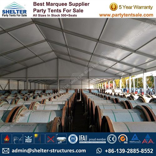 20x50m Temporary Outside Storage for Cable